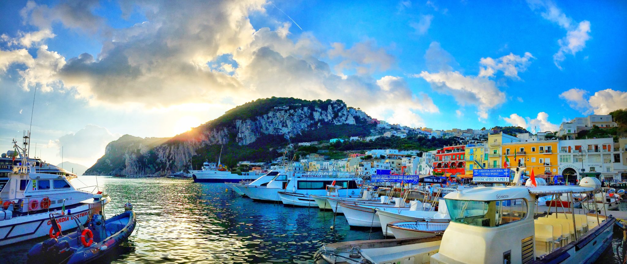 Capri Italy Itinerary Including Sea And Land Activities