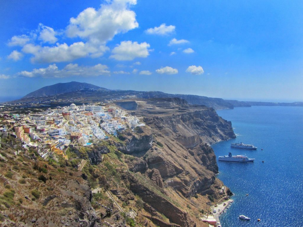 Santorini Greece Itinerary Including Red Sand Beach Oia