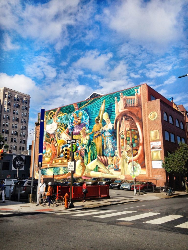 Philadelphia pa itinerary for a weekend of art food and for Mural tour philadelphia map