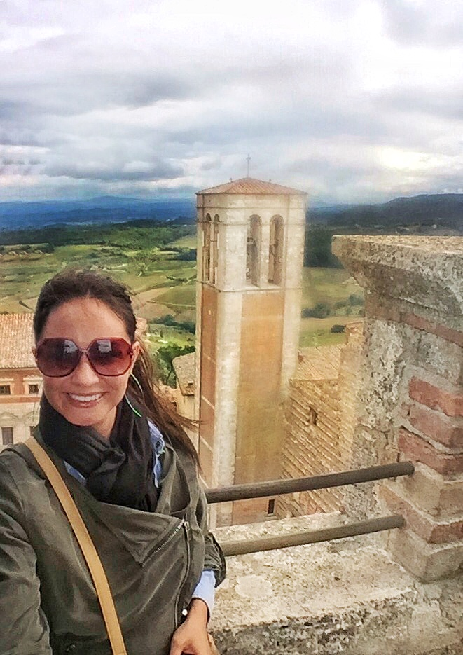 Palazzo Comunale in Montepulciano on a Tuscany, Italy road trip