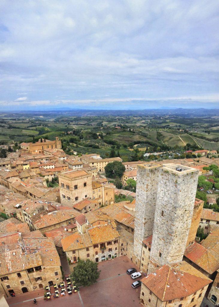 San Gimignano during a Tuscany, Italy road trip